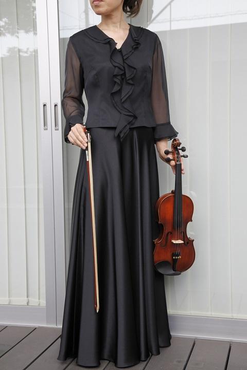 スカート(ブラック)