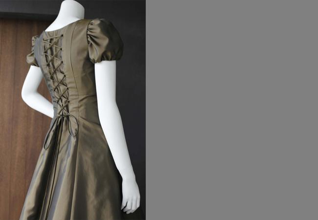 ドレス(ゴールド)
