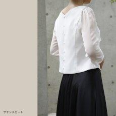 画像3: 【スッキリ×コンパクト】ティアードブラウス (3)