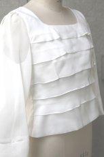 画像8: 【スッキリ×コンパクト】ティアードブラウス (8)