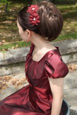 画像3: 【白雪姫×クラシカル】パフスリーブの袖付きロングフレアードレス (3)