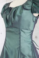 画像11: 【白雪姫×クラシカル】パフスリーブの袖付きロングフレアードレス (11)