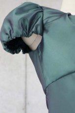 画像12: 【白雪姫×クラシカル】パフスリーブの袖付きロングフレアードレス (12)