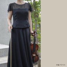 画像3: 【ふんわり&はなやか】オーガンジースカート (3)