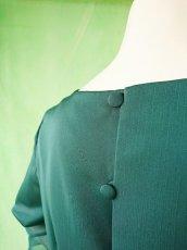 画像16: 深みが美しい楊柳シフォンのグリーンブラウス&ロングスカート(お得なセット) (16)