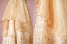 画像11: 数量限定 / オーバースカート付き2wayの袖付きフレアーロングドレス (11)
