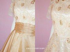 画像6: 数量限定 / オーバースカート付き2wayの袖付きフレアーロングドレス (6)