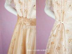 画像7: 数量限定 / オーバースカート付き2wayの袖付きフレアーロングドレス (7)