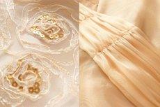 画像9: 数量限定 / オーバースカート付き2wayの袖付きフレアーロングドレス (9)