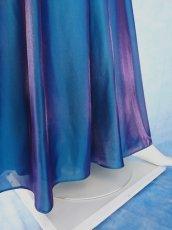 画像14: 数量限定 / 煌きのビジュー入り袖付きフレアーロングドレス (14)