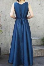 画像3: 色・生地が選べるコーラス用ドレス【ブルー/ライトシャンタン】 (3)