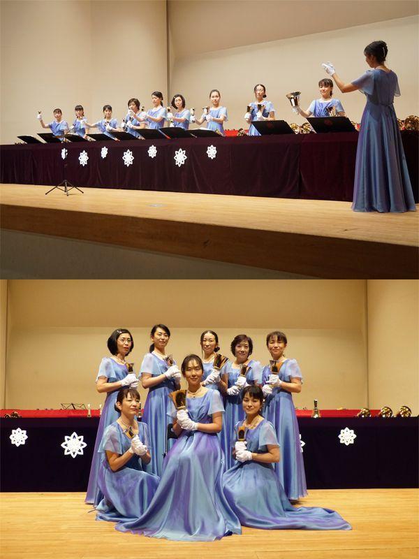 ハンドベルグループ「FairyBell」代表 金田美香様 写真