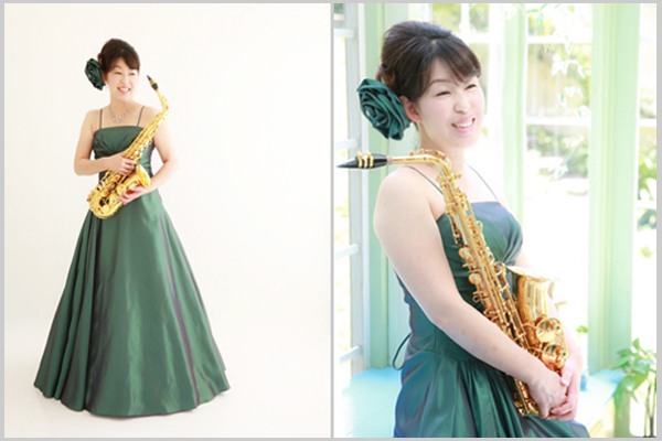hiromi様ドレス写真
