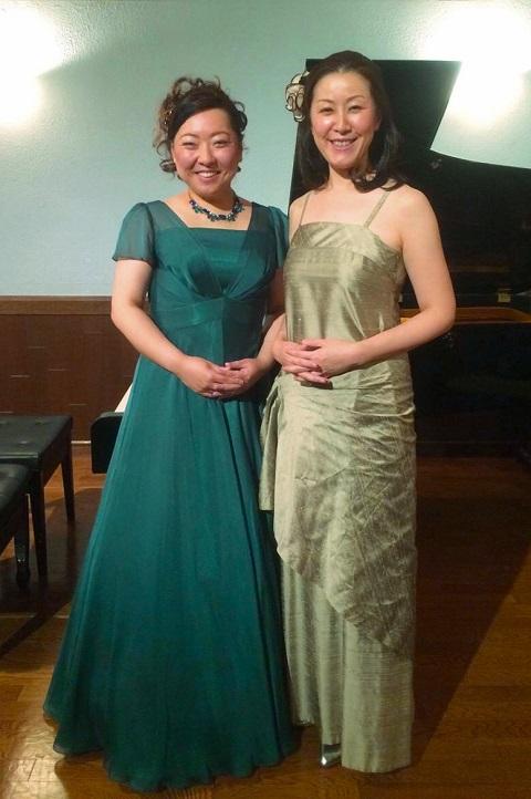 加藤純子様ドレス写真(クリックで拡大)
