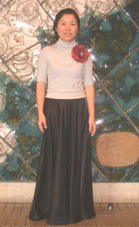 C.K様スカート写真(クリックで拡大)