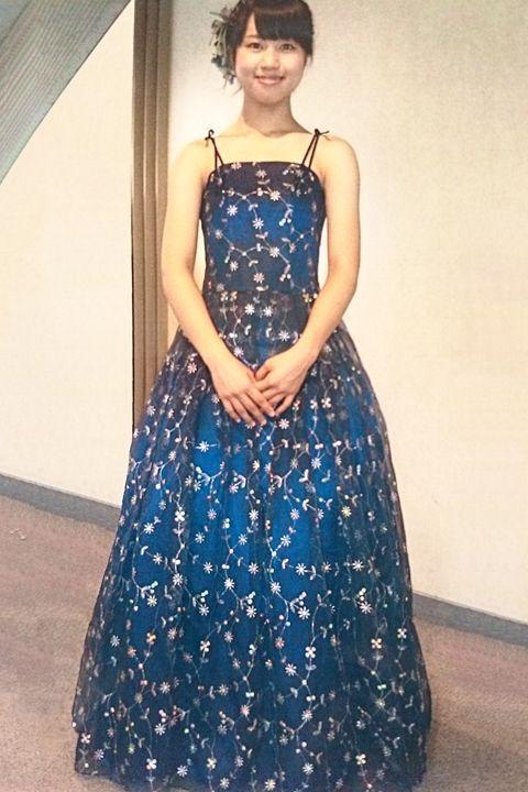大野未久ドレス写真(クリックで拡大)