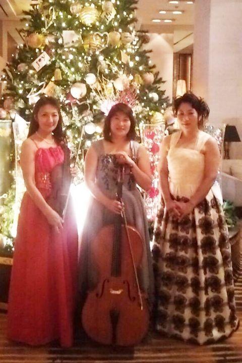 ピアニスト河村義子様ドレス写真(クリックで拡大)