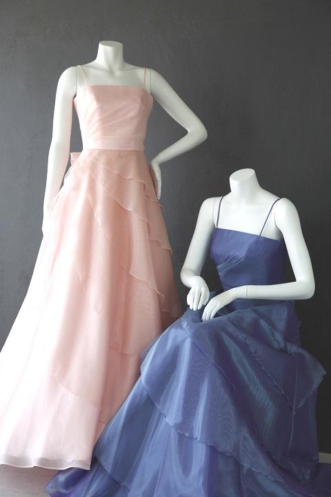 ドレス(ベビーピンク&バイオレットブルー)