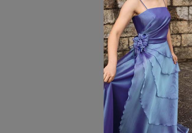 ドレス(バイオレットブルー)
