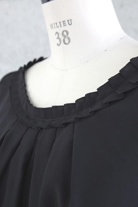ブラウス(ブラック)詳細